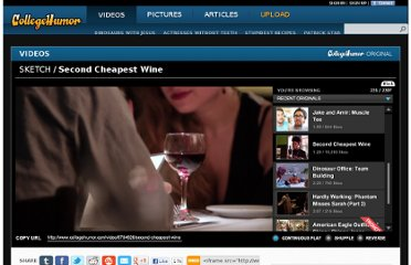 http://www.collegehumor.com/video/6794626/second-cheapest-wine