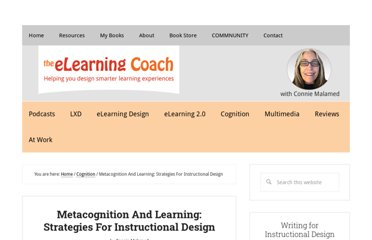 http://theelearningcoach.com/learning/metacognition-and-learning/