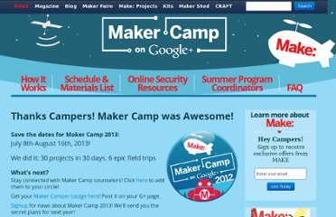 http://makezine.com/maker-camp/