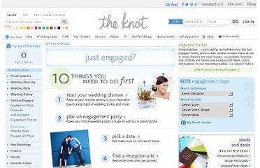 http://wedding.theknot.com/getting-engaged/engaged.aspx