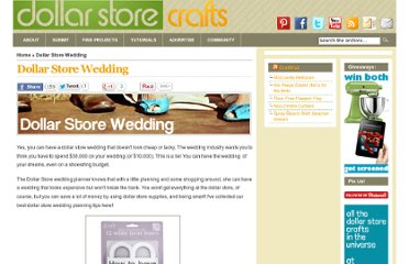 http://dollarstorecrafts.com/find-projects/wedding/