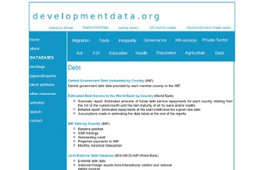http://www.developmentdata.org/debt.htm