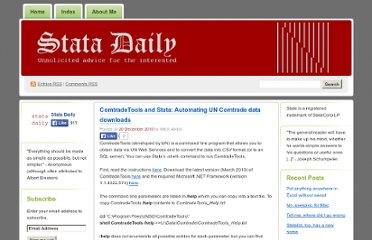 http://statadaily.wordpress.com/2010/12/20/comtradetools-and-stata-automating-un-comtrade-data-downloads/