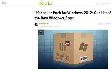 http://lifehacker.com/5924859/lifehacker-pack-for-windows-our-list-of-the-best-windows-apps