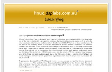 http://linux.dsplabs.com.au/resume-writing-example-latex-template-linux-curriculum-vitae-professional-cv-layout-format-text-p54/