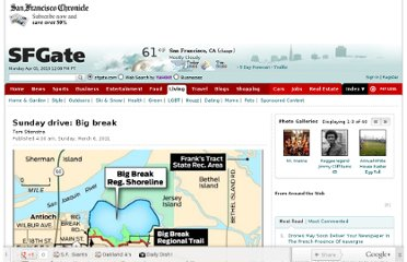http://www.sfgate.com/outdoors/sundaydrive/article/Sunday-drive-Big-break-3242288.php