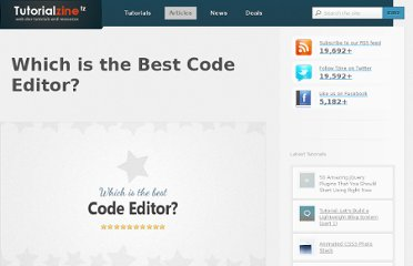http://tutorialzine.com/2012/07/battle-of-the-tools-which-is-the-best-code-editor/