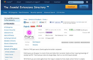 http://extensions.joomla.org/extensions/contacts-and-feedback/forms/1659