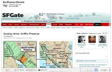 http://www.sfgate.com/outdoors/sundaydrive/article/Sunday-drive-Griffin-Preserve-2388133.php