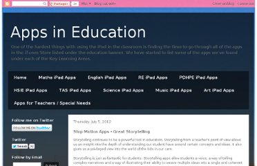 http://appsineducation.blogspot.com/2012/07/stop-motion-apps-great-storytelling.html#