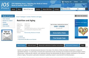 http://www.iospress.nl/journal/nutrition-and-aging/