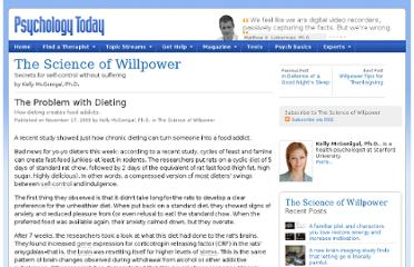 http://www.psychologytoday.com/blog/the-science-willpower/200911/the-problem-dieting