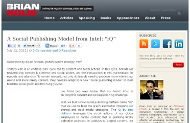 http://www.briansolis.com/2012/07/a-social-publishing-model-from-intel-iq/