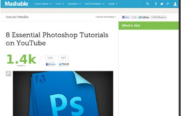 http://mashable.com/2012/07/12/photoshop-tutorial-videos/