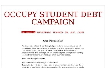 http://www.occupystudentdebtcampaign.org/our-principles/