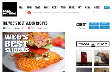 http://coolmaterial.com/roundup/the-webs-best-slider-recipes/