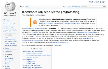 http://en.wikipedia.org/wiki/Inheritance_(object-oriented_programming)