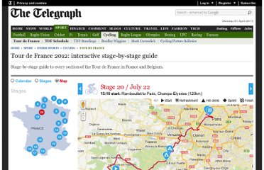 http://www.telegraph.co.uk/sport/othersports/cycling/tour-de-france/9362536/Tour-de-France-2012-interactive-stage-by-stage-guide.html