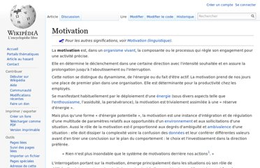 http://fr.wikipedia.org/wiki/Motivation
