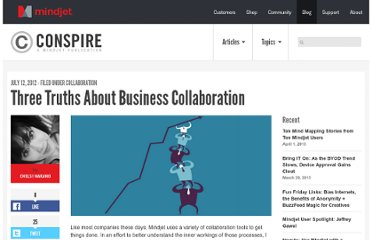 http://blog.mindjet.com/2012/07/three-truths-about-business-collaboration/