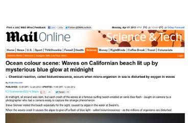 http://www.dailymail.co.uk/sciencetech/article-2172482/California-dreaming-Waves-popular-surfer-beach-glow-bright-blue-midnight.html