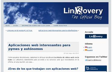 http://blog.linkovery.com/es/2012/05/03/interesting-webapps-for-self-employed-people-and-small-and-medium-sized-enterprises/