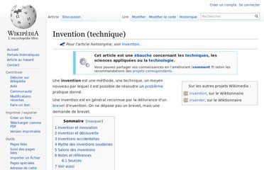 http://fr.wikipedia.org/wiki/Invention_(technique)