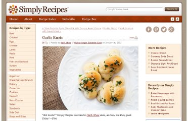 http://www.simplyrecipes.com/recipes/garlic_knots/