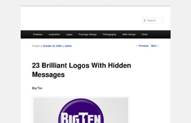 http://urlpulse.co/blog/2009/10/22/23-brilliant-logos-with-hidden-messages/