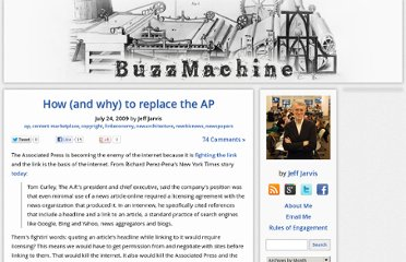 http://buzzmachine.com/2009/07/24/how-and-why-to-replace-the-ap/