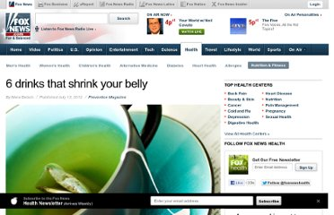 http://www.foxnews.com/health/2012/07/12/6-drinks-that-shrink-your-belly/