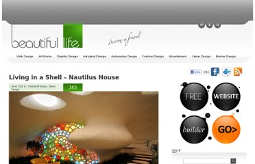 http://www.beautifullife.info/urban-design/living-in-a-shell-nautilus-house/