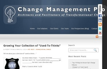 http://www.changemanagementpro.com/used-to-thinks-collection/