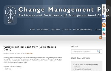 http://www.changemanagementpro.com/lets-make-a-deal/
