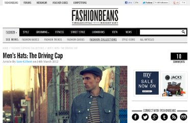 http://www.fashionbeans.com/2012/mens-hats-the-driving-cap/