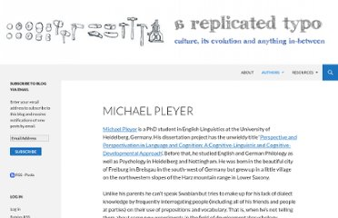 http://replicatedtypo.com/authors/michael-pleyer