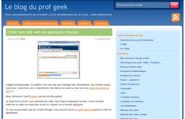 http://profgeek.fr/creer-son-site-web/