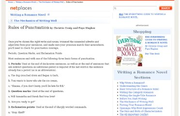http://www.netplaces.com/writing-a-romance-novel/the-mechanics-of-writing-well/rules-of-punctuation.htm