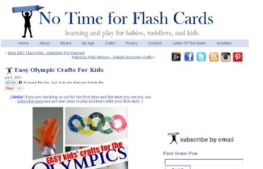 http://www.notimeforflashcards.com/2012/07/easy-olympic-crafts-for-kids.html