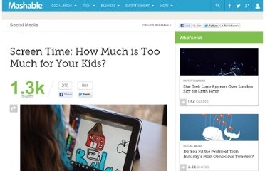 http://mashable.com/2012/07/14/too-much-screen-time/