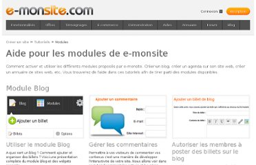 http://www.e-monsite.com/pages/tutoriels/modules/