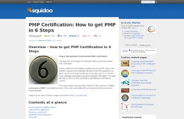http://www.squidoo.com/PMP-Certification-Exam