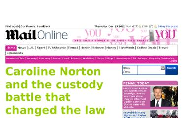 http://www.dailymail.co.uk/home/you/article-2172010/Caroline-Norton-custody-battle-changed-law.html