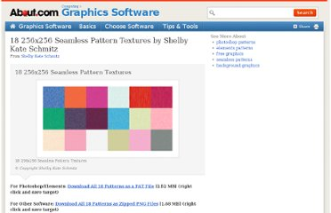 http://graphicssoft.about.com/od/photoshoppatterns/ss/256px-Seamless-Patterns.htm