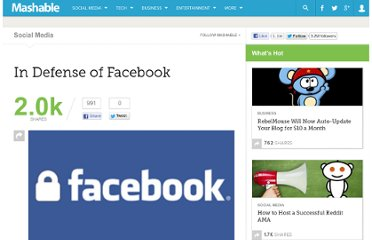 http://mashable.com/2010/05/16/in-defense-of-facebook/
