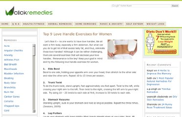 http://www.clickremedies.com/love-handle-exercises-for-women