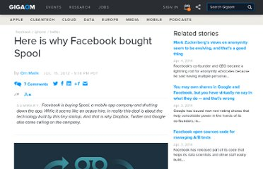 http://gigaom.com/2012/07/15/why-did-facebook-buy-spool-what-did-twitter-miss/