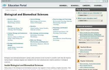 http://education-portal.com/directory/category/Biological_and_Biomedical_Sciences.html