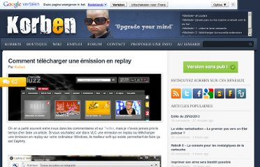 http://korben.info/comment-telecharger-une-emission-en-replay.html