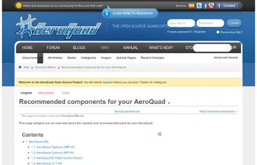 http://aeroquad.com/showwiki.php?title=Recommended+components+for+your+AeroQuad